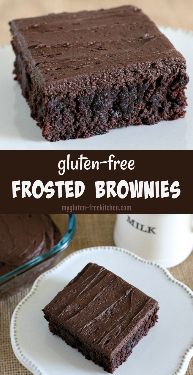 Best Gluten-free Frosted Brownies Recipe. Tried and true recipe!