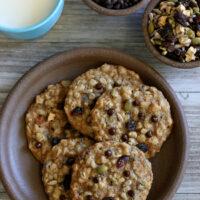 Gluten-free Nut-Free Cowboy Cookies
