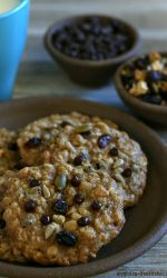 Gluten-free Cowboy Cookies free of nuts, peanuts and dairy. They're so good!