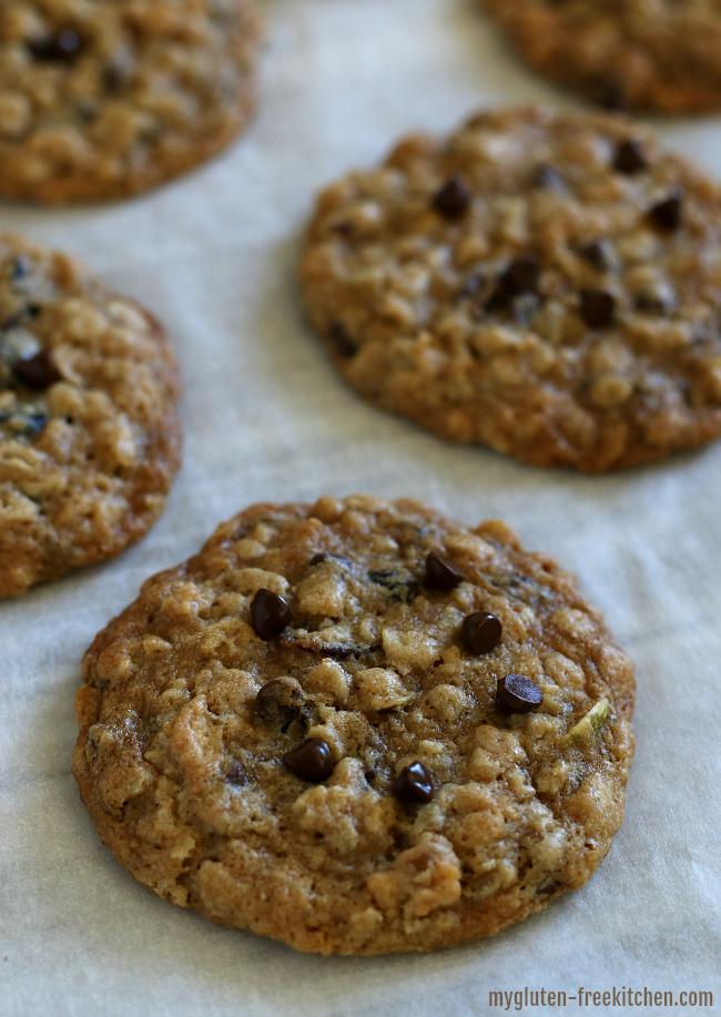 Gluten-free Cowboy Cookies nut-free dairy-free