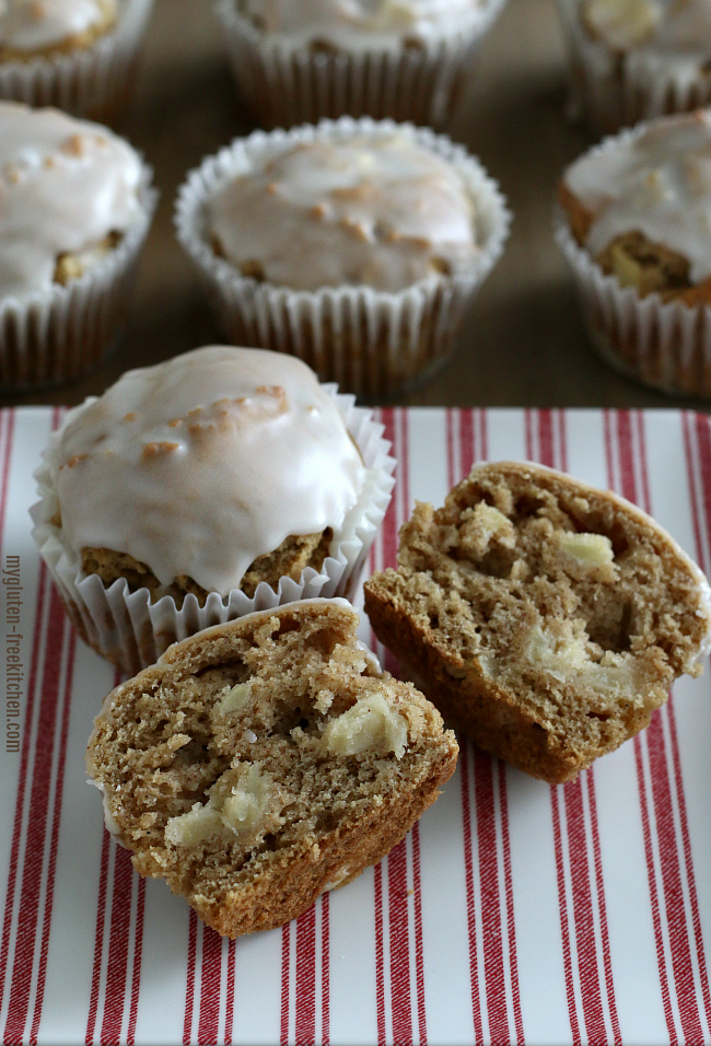 Gluten-free Apple Fritter Muffin Recipe