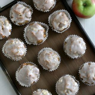 Gluten free Apple Fritter Muffins