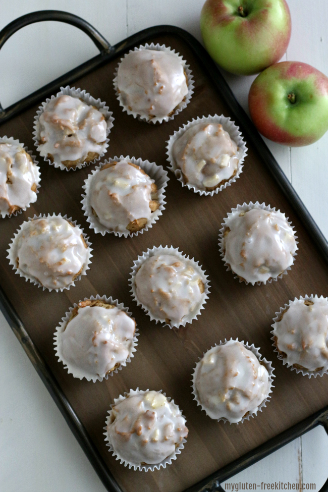Gluten-free Apple Fritter Muffins