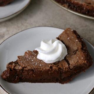 Best Gluten-free Double Chocolate Fudge Pie