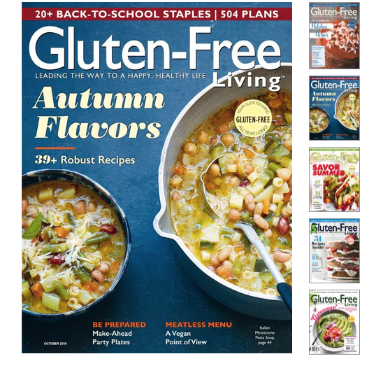 Gluten-free Living Magazine Deal