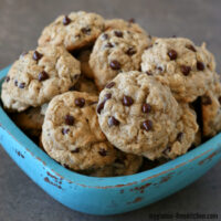 Gluten-free Oatmeal Chocolate Chip Cookies (dairy-free)