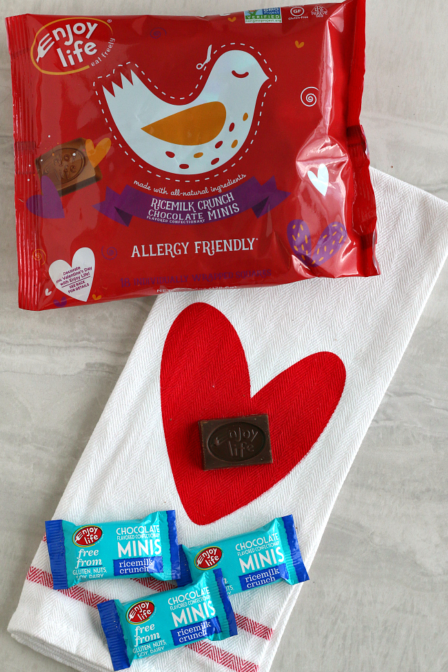Enjoy Life crunch bars Valentines