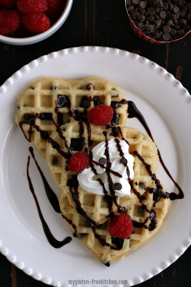 Gluten-free Chocolate Chip Waffles