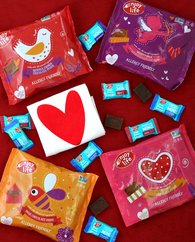 Gluten-free Chocolate Minis for Valentine's Day allergy friendly