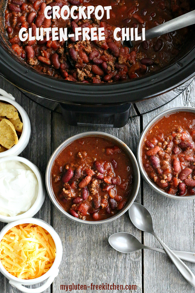 Crockpot Gluten-free Chili Recipe