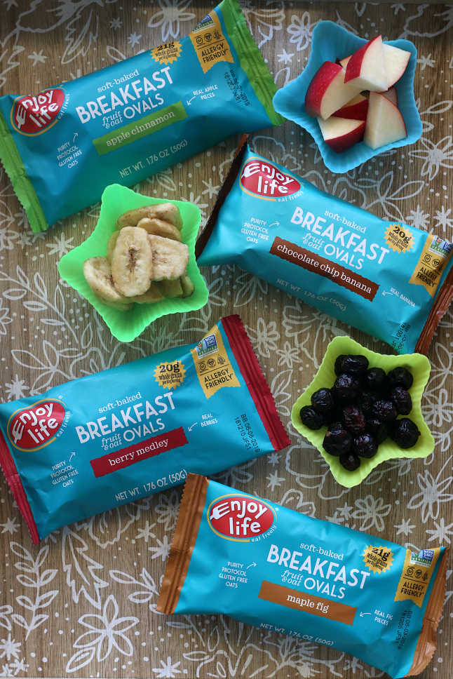 Enjoy Life Breakfast Ovals. Gluten-free and allergy friendly.