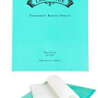 Parchment Paper Baking Sheets - (100 pcs) - Pre-cut 12x16 inch Perfect Fit for Sheet Pans