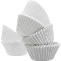 White Cupcake Paper Liners, Pack of 500