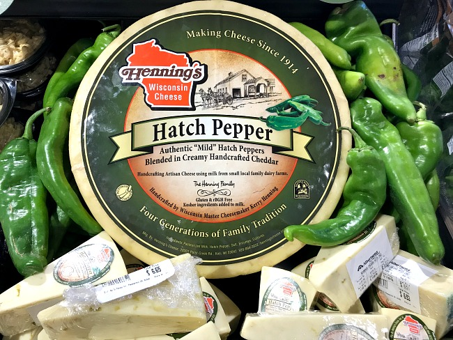 Hatch Pepper Cheddar Cheese