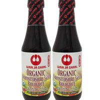 WanJaShan Organic Gluten Free Worcestershire Sauce 10 oz (Pack of 2)