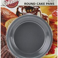 Wilton Mini Round Pans, 4 by 1.25-Inch, Set of 3