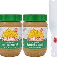 SunButter Creamy Organic Sunflower Seed Butter, 16 Ounce Plastic Jar (Pack 2)