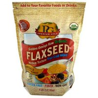 Premium Gold Organic Ground Flax Seed 4 pounds