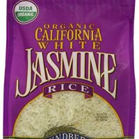 Lundberg Organic California White Jasmine Rice, 32 Ounce (Pack of 6)