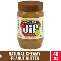 Jif Natural Creamy Peanut Butter, 40 oz.
