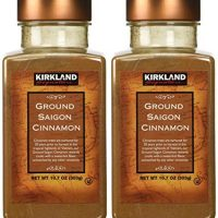 Kirkland Saigon Cinnamon 10.7 Oz Bottles( Pack of 2) - 21.4 Oz Total