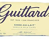 Guittard Baking Au Lait Vanilla Chips, 12 Ounce
