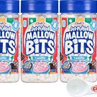 Kraft Jet-Puffed Mallow Bits Vanilla Flavor Marshmallows 3 Ounce (Pack of 3)