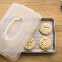 USA Pan Nonstick, Jelly Roll Pan with Lid