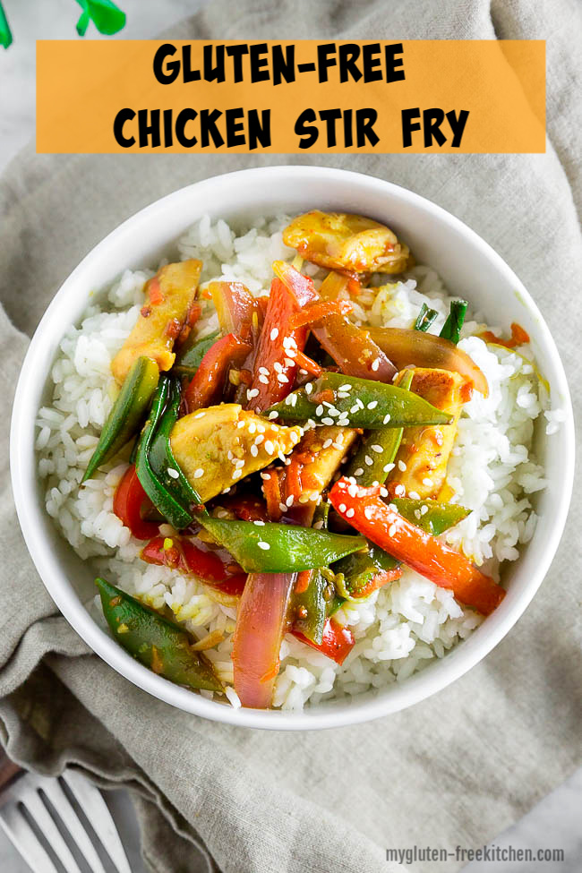 Gluten-free Chicken Stir Fry Recipe