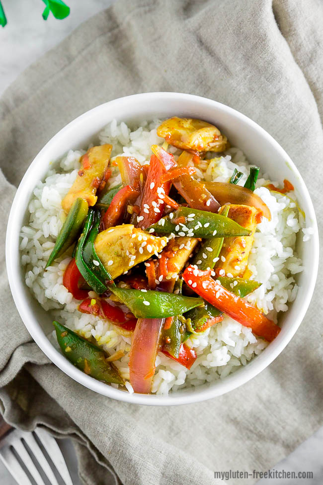 Gluten-free Chicken Stir Fry