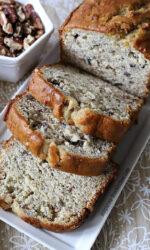 Gluten-free Banana Pecan Bread