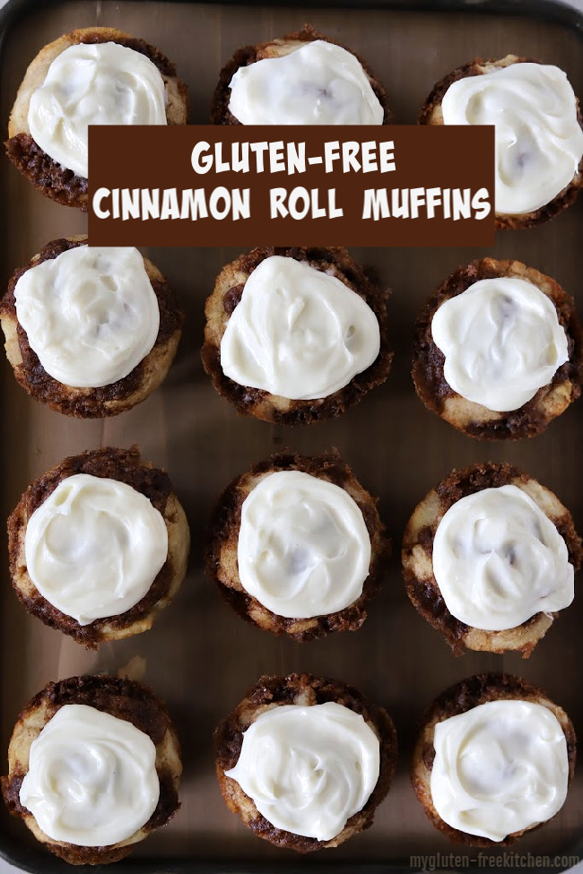 Gluten-free Cinnamon Roll Muffins