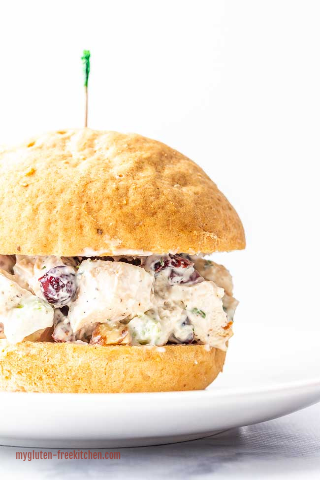 Gluten Free Chicken Salad Sandwich